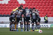 Colchester United  during the EFL Sky Bet League 2 match between Doncaster Rovers and Colchester United at the Keepmoat Stadium, Doncaster, England on 15 October 2016. Photo by Simon Davies.