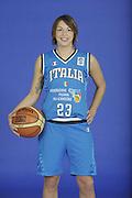 DESCRIZIONE : Venezia Additional Qualification Round Eurobasket Women 2009 Posati Nazionale Femminile<br /> GIOCATORE : Valentina Donvito<br /> SQUADRA : Nazionale Italia Donne<br /> EVENTO : <br /> GARA : <br /> DATA : 04/01/2009<br /> CATEGORIA : Ritratto<br /> SPORT : Pallacanestro<br /> AUTORE : Agenzia Ciamillo-Castoria/M.Gregolin