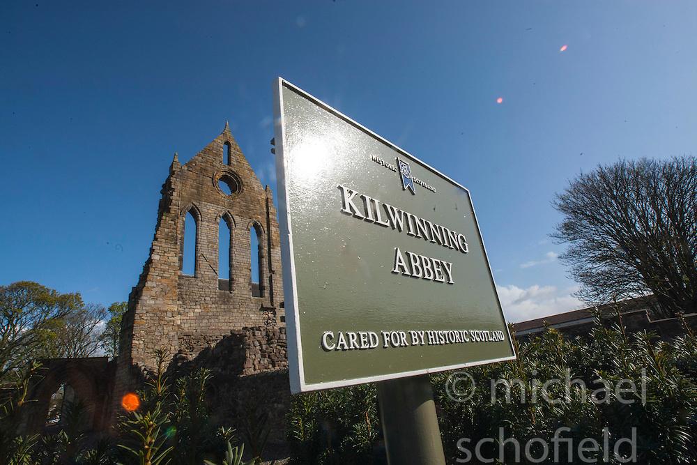 Kilwinning Abbey, Kilwinning..©Michael Schofield..