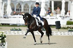 jMerkulova Inessa, (RUS), Mister X <br /> Grand Prix<br /> CDIO Hagen 2015<br /> © Hippo Foto - Stefan Lafrentz<br /> 09/07/15