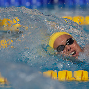 Libby Trickett, Australia, competing in the Women's 100m freestyle heats at the World Swimming Championships in Rome on Thursday, July 30, 2009. Photo Tim Clayton.