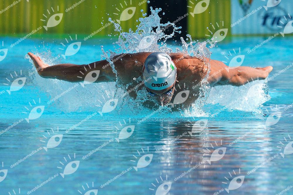 Matteo Rivolta Italia 50m Butterfly Men <br /> Roma 15/6/2013 Piscina del Foro Italico <br /> Nuoto 50mo trofeo Settecolli<br /> Settecolli 50th International swimming trophy <br /> Foto Andrea Staccioli Insidefoto
