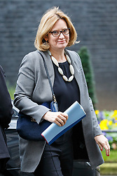 © Licensed to London News Pictures. 21/02/2017. London, UK. Home Secretary AMBER RUDD attends a cabinet meeting in Downing Street, London on Tuesday, 21 February  2017. Photo credit: Tolga Akmen/LNP