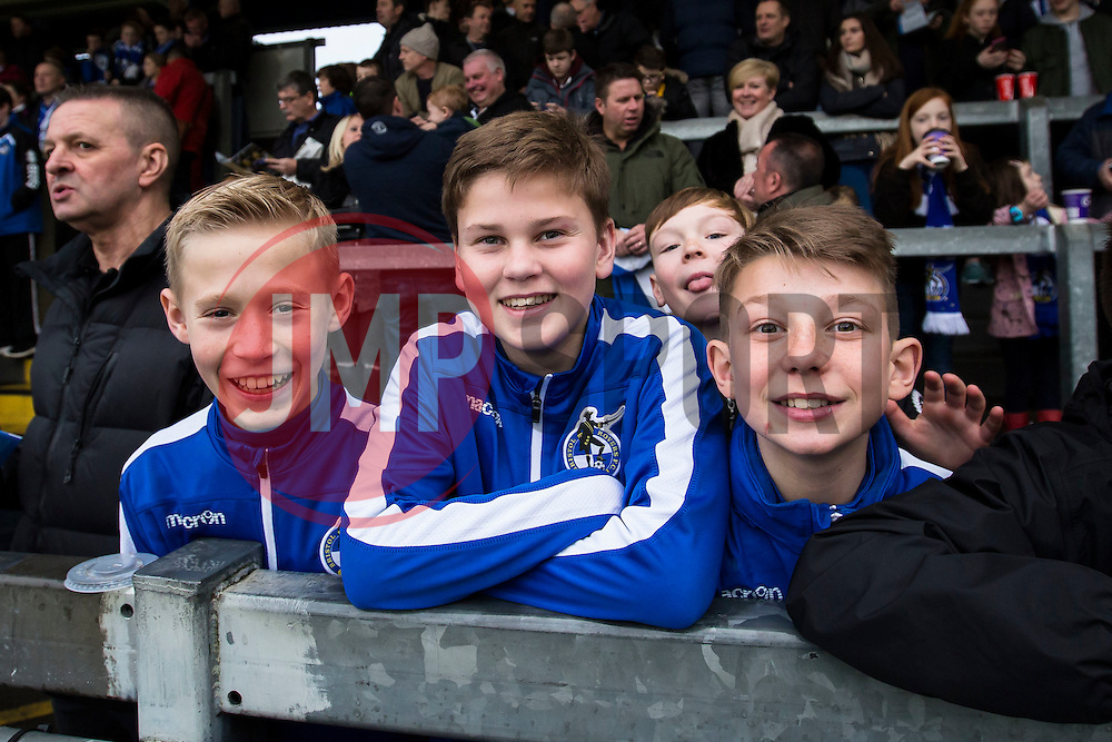 Bristol Rovers fans - Mandatory by-line: Jason Brown/JMP - 07/01/2017 - FOOTBALL - Memorial Stadium - Bristol, England - Bristol Rovers v Northampton Town - Sky Bet League One