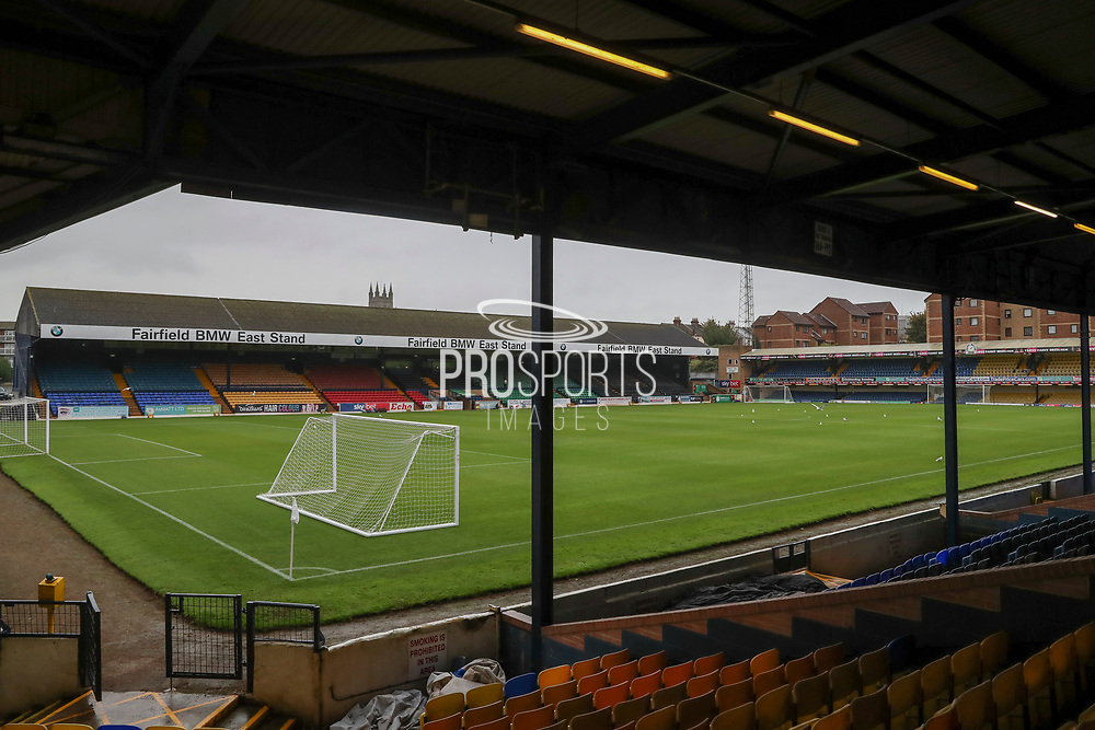 Roots Hall during the EFL Sky Bet League 1 match between Southend United and AFC Wimbledon at Roots Hall, Southend, England on 12 October 2019.