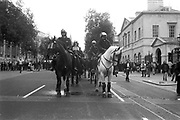 Police on Horses,  3rd Criminal Justice March,  London, 9th of October, 1994