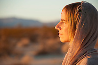 Woman sacred sungazing Sungazing