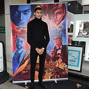 Hamzah Sheeraz is a professional boxer arrives at Tresor Paris In2ruders - launch at Tresor Paris, 7 Greville Street, Hatton Garden, London, UK 13th September 2018.