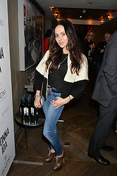 FRANCESCA DAMATO at a party hosted by Donna Ida to celebrate 'A Decade in Denim' held at The hari Hotel, 20 Chesham Place, London on 11th October 2016.