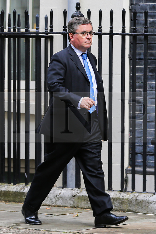© Licensed to London News Pictures. 04/009/2019. London, UK. Justice Secretary ROBERT BUCKLAND QC departs from No 10 Downing Street after attending the weekly Cabinet Meeting. On Monday 3 Sept 2019, MP's voted by 328 - 301 with a majority of 27 to take control of the House of Commons agenda for Tuesday 4 Sept 2019. Photo credit: Dinendra Haria/LNP