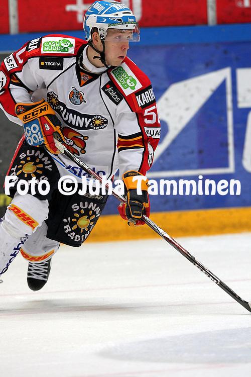 1.2.2011, H?meenlinna..J??kiekon SM-liiga 2010-11. .HPK - Jokerit..Tommi Kivist? - Jokerit.©Juha Tamminen.