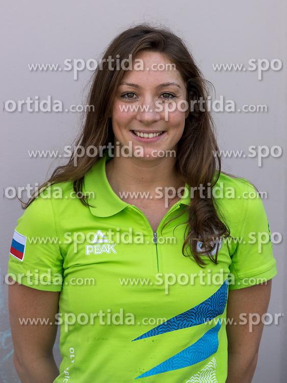 Anja Klinar at presentation of Slovenian Olympic Team for Rio 2016, on July 22, 2016 in Koper, Slovenia. Photo by Matic Klansek Velej / Sportida