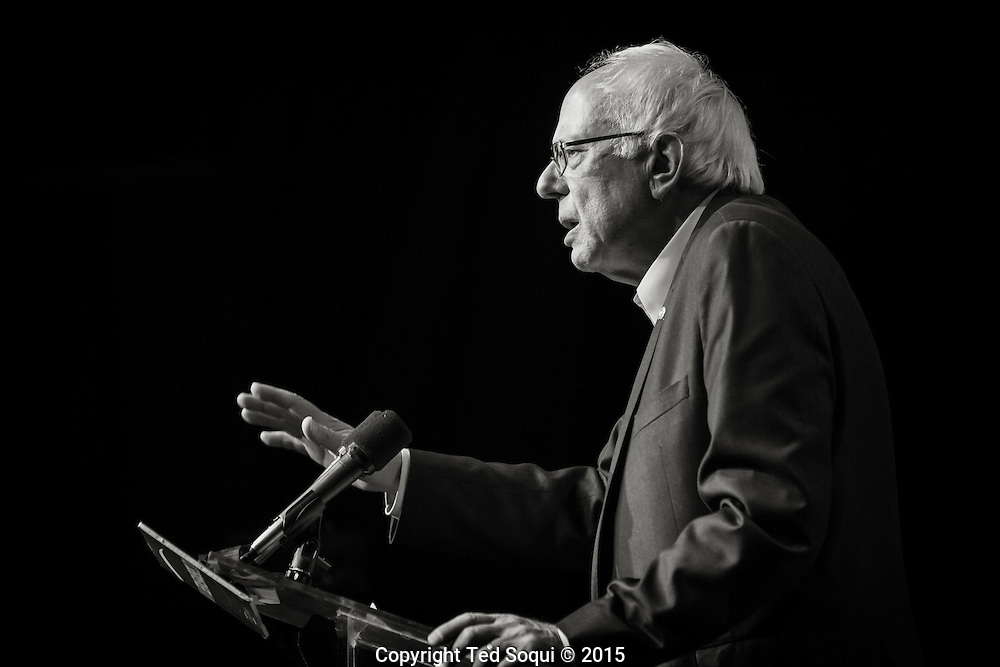 Democratic Presidential candidate Senator Bernie Sanders held a fundraiser and rally in Hollywood. The fundraiser has a suggested $25 dollar donation to enter and was held a nightclub, Avalon Hollywood.