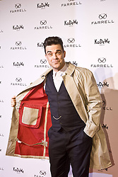 Robbie Williams attends the launch of his Fashion-Label 'Farrell' at KaDeWe,  Berlin, Germany,  February 26, 2013. Photo by Imago / i-Images...UK ONLY<br />