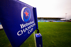 Champions Cup branding - Mandatory by-line: Dougie Allward/JMP - 23/11/2019 - RUGBY - Sandy Park - Exeter, England - Exeter Chiefs v Glasgow Warriors - Heineken Champions Cup