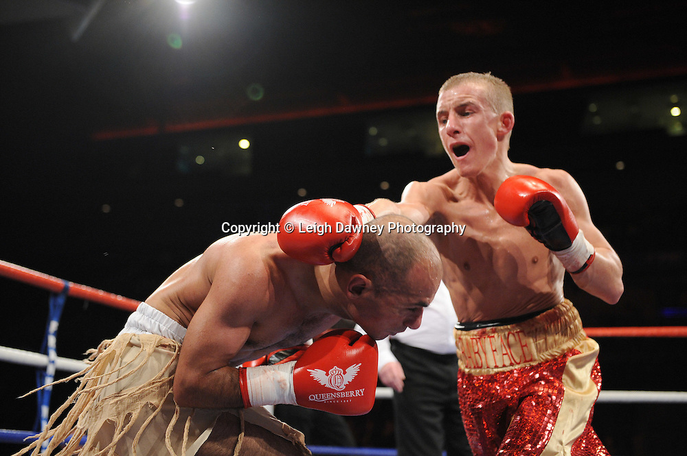 "Paul Butler defeats Anwar Alfadi at the Echo Arena, Lverpool,11th December 2010,Frank Warren.tv Promotions ""Return Of The Magnificent Seven"" © Photo Leigh Dawney"