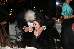 Alain Delon and Anouk Aimee attending the Kering Women In Motion dinner as part of the 72nd Cannes Film Festival, on May 19, 2019 in Cannes, France. Photo by Jerome Domine/ABACAPRESS.COM