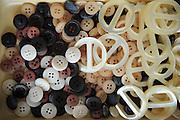 An assortment of buttons