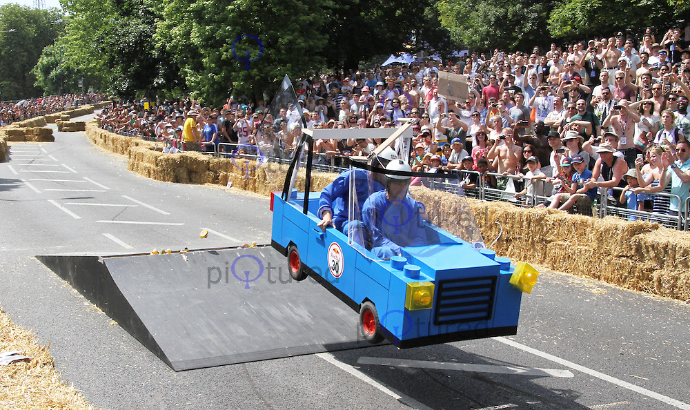 Lego Go Go Go Kart, Red Bull Soapbox Race, Alexandra Palace, London UK, 14 July 2013, (Photoby Richard Goldschmidt)