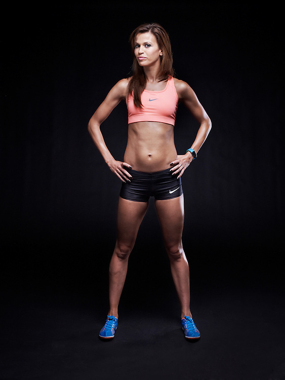 PARIS, FRANCE. MARCH 16, 2012. Tunisian athlete Habiba Ghribi shot at the Studio Zero. Photo: Antoine Doyen