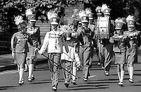 Leeds Wortley Owls Jazz Band, 1992 Yorkshire Miners Gala, Barnsley.