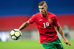 Kiril Despodov of Bulgaria during football match between National teams of Slovenia and Bulgaria in Group stage of UEFA Nationals League, on September 6, 2018 in SRC Stozice, Ljubljana, Slovenia. Photo by Urban Urbanc / Sportida