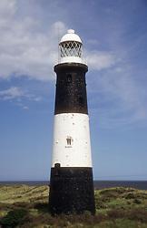 Lighthouse on Spurn Point; Yorkshire,