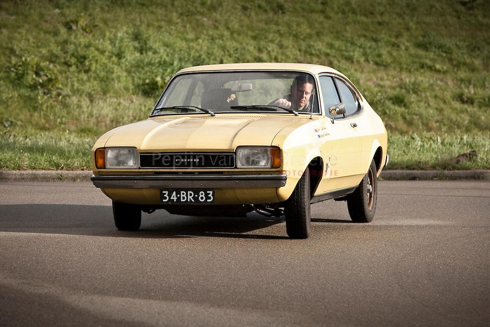 groningen 20101020. ford capri , bouwjaar 1974, occasion bij winters auto's. foto: pepijn van den Broeke.