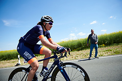 Christina Siggaard (DEN) at Lotto Thüringen Ladies Tour 2019 - Stage 3, a 97.8 km road race in Dörtendorf, Germany on May 30, 2019. Photo by Sean Robinson/velofocus.com
