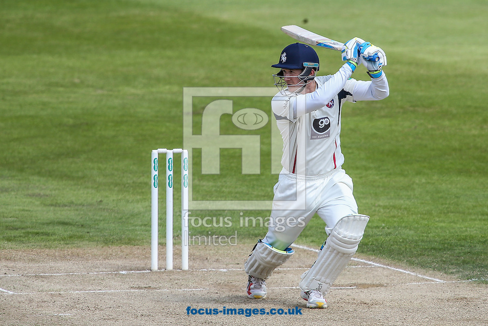 Joe Denly of Kent during the Specsavers County C'ship Div Two match at the County Ground, Northampton<br /> Picture by Andy Kearns/Focus Images Ltd 0781 864 4264<br /> 16/05/2016
