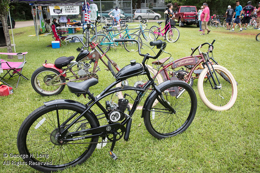Louisiana Bicycle Festival in Abita Springs on June 17, 2017