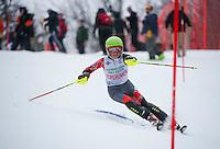 Tecnica Cup alpine slalom at Gunstock. ©2014 Karen Bobotas Photographer