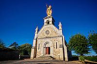 France, Indre (36), Argenton-sur-Creuse, chapelle La Bonne Dame ou Notre Dame des Bancs, statue de la Vierge // France, Indre (36), Argenton-sur-Creuse, La Bonne Dame chapel, staue of the Virgin
