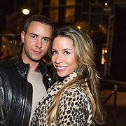 NLD/Amsterdam/20140203 - 20 Jaar Talkies Magazine, Renee Vervoorn en partner Guy van der Reijden
