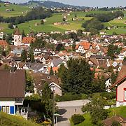 Village of Appenzell, Switzerland<br />