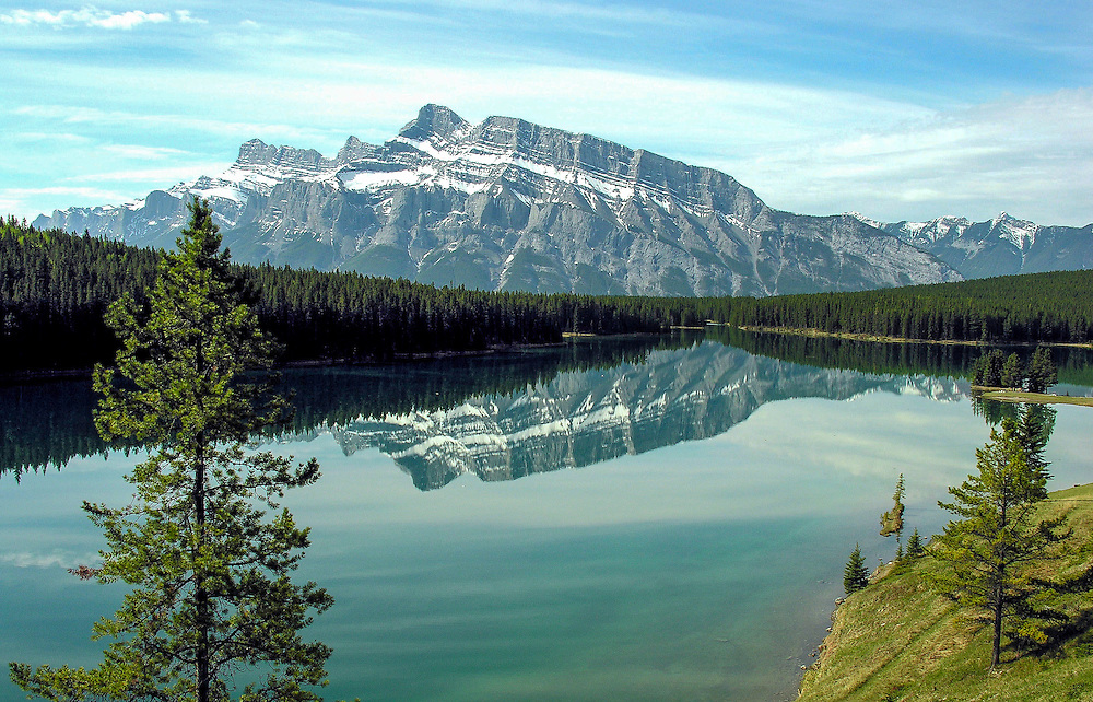Two Jack Lake,  Banff National Park, Canada.