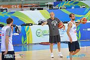 DESCRIZIONE: Torino FIBA Olympic Qualifying Tournament Allenamento<br /> GIOCATORE: Ettore Messina<br /> CATEGORIA: Nazionale Italiana Italia Maschile Senior  Allenamento<br /> GARA: FIBA Olympic Qualifying Tournament Allenamento<br /> DATA: 08/07/2016<br /> AUTORE: Agenzia Ciamillo-Castoria