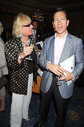CAROL THATCHER and MICHAEL PORTILLO at a party to celebrate the publication of Gemma Levine's book Mayfair, held at Claridge's, Brook Street, London on 16th June 2008.<br />