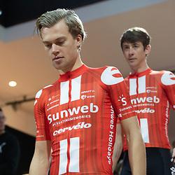 10-12-2019: Wielrennen: Teampresentatie Sunweb: Amsterdam <br />Tim Naberman