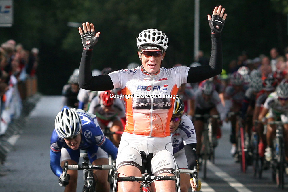 Ladiestour Rijssen 2009<br />Kirsten WIld wint etappe