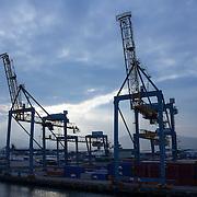 Cranes at Port of Belfast