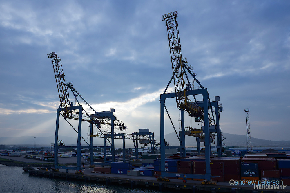 Cranes at Port of Belfast