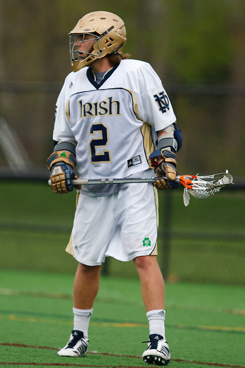 May 1, 2009:    #2Duncan Swezey of Notre Dame in action during the NCAA Lacrosse game between Notre Dame and Quinnipiac at GWLL Tournament in Birmingham, Michigan. (Credit Image: Rick Osentoski/Cal Sport Media)