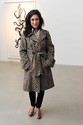 FATIMA BHUTTO at a party to celebrate the publication of Allegra Hick's book 'An Eye For Design' held at he Timothy Taylor Gallery, Carlos Place, London on 23rd November 2010.