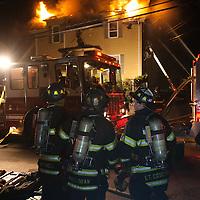Quincy 2nd alarm fire, 44 Penn St.