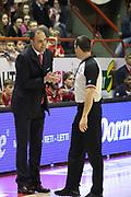 DESCRIZIONE : Campionato 2014/15 Giorgio Tesi Group Pistoia - Dolomiti Energia Trento<br /> GIOCATORE : Moretti Paolo<br /> CATEGORIA : Allenatore Coach Delusione Arbitro Referee<br /> SQUADRA : Giorgio Tesi Group Pistoia<br /> EVENTO : LegaBasket Serie A Beko 2014/2015<br /> GARA : Giorgio Tesi Group Pistoia - Dolomiti Energia Trento<br /> DATA : 18/03/2015<br /> SPORT : Pallacanestro <br /> AUTORE : Agenzia Ciamillo-Castoria/S.D'Errico<br /> Galleria : LegaBasket Serie A Beko 2014/2015<br /> Fotonotizia : Campionato 2014/15 Giorgio Tesi Group Pistoia - Dolomiti Energia Trento<br /> Predefinita :