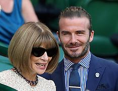 Celebrities at Wimbledon - 7 July 2017