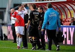 08-11-2009 VOETBAL: FC UTRECHT - HEERENVEEN: UTRECHT<br /> Utrecht verliest met 3-2 van Heerenveen / Ricky van Wolfswinkel<br /> ©2009-WWW.FOTOHOOGENDOORN.NL