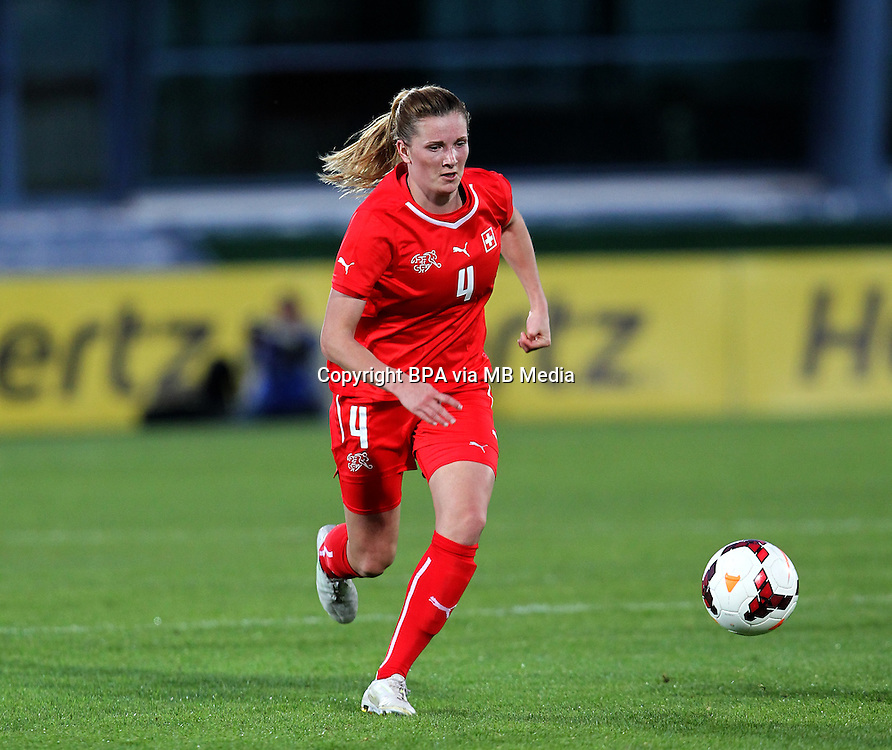 Fifa Womans World Cup Canada 2015 - Preview //<br /> Algarve Cup 2015 Tournament ( Vila Real San Antonio Sport Complex - Portugal ) - <br /> Usa vs Switzerland 3-0 , Rachel Rinast of Switzerland
