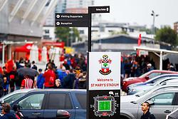 A general view of signage at St Marys Stadium - Mandatory by-line: Ryan Hiscott/JMP - 12/08/2018 - FOOTBALL - St Mary's Stadium - Southampton, England - Southampton v Burnley - Premier League